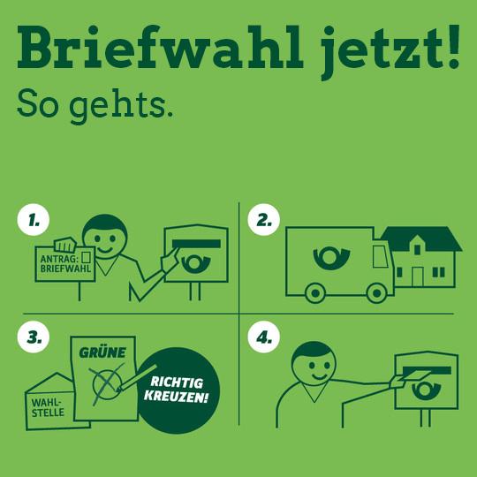 Briefwahl Grüne Heidenheim